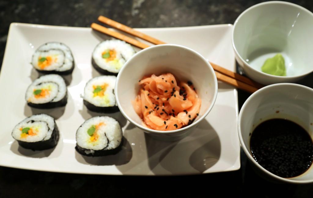 Mé první domácí sushi