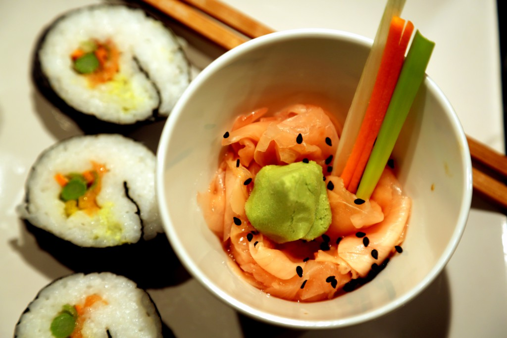 Domácí sushi bylo snazší než jsem si představovala.