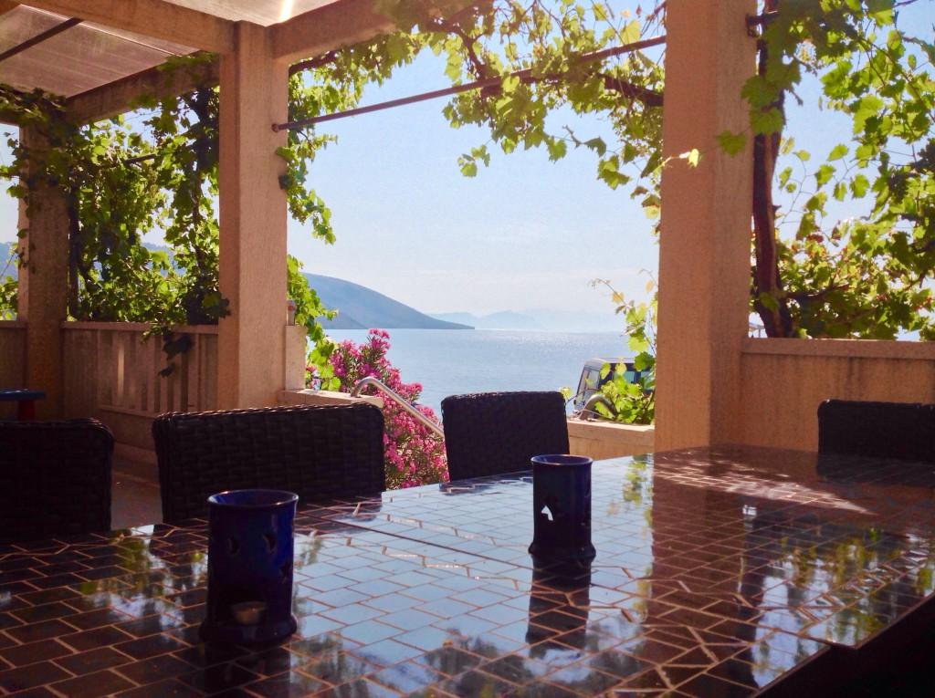 V Trogiru zažíváme nádherná  a klidná rána...