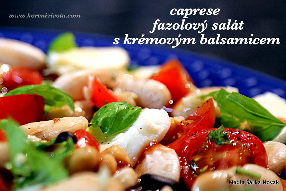 čerstvá bazalka, rajčata a mozzarella s kvalitním olivovým olejem jsou základem tradičního itaského salátu caprese