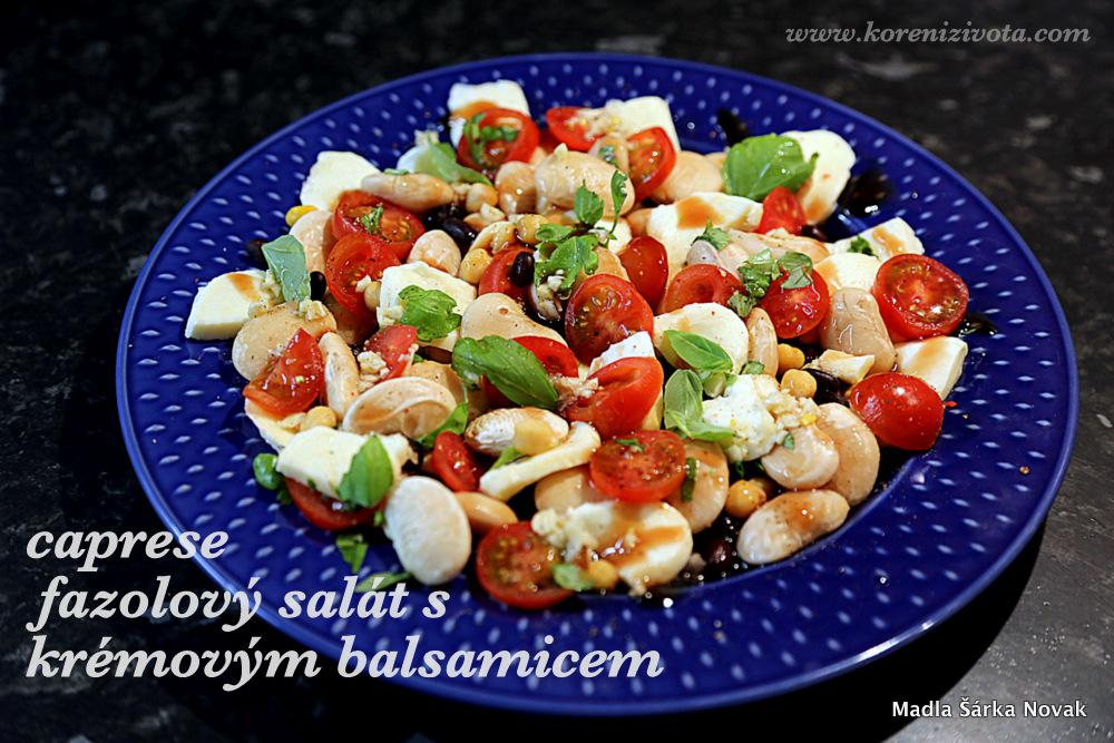 lahodný salátek plný vlákniny a proteinů s minimem kalorií