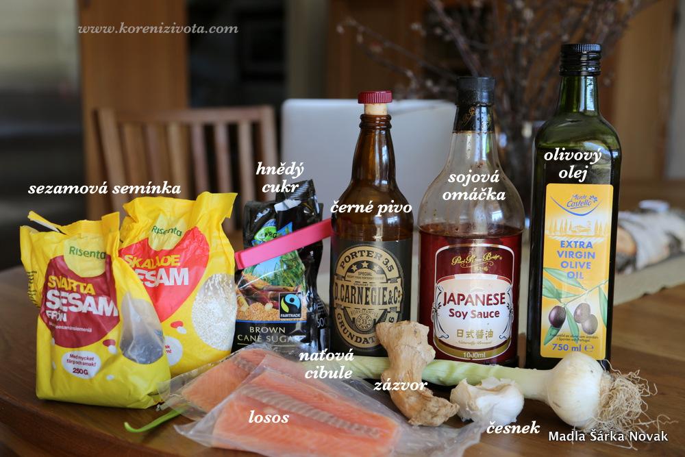 suroviny; čím tmavší a karamelovější pivo použijete, tím lépe