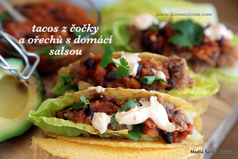 Domácí salsa k mexickým pokrmům