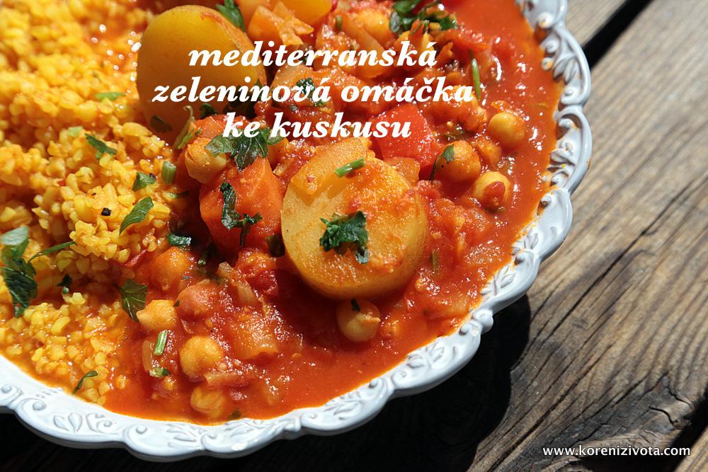 Poctivá mediterranská zeleninová omáčka ke kuskusu
